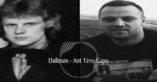 Dallasas - Ant tėvo kapo